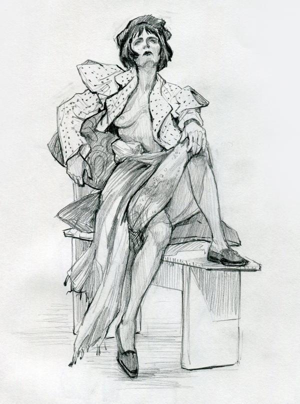 Life Drawing 4 by yefumm