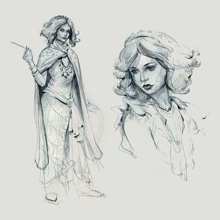 Life Drawing by yefumm