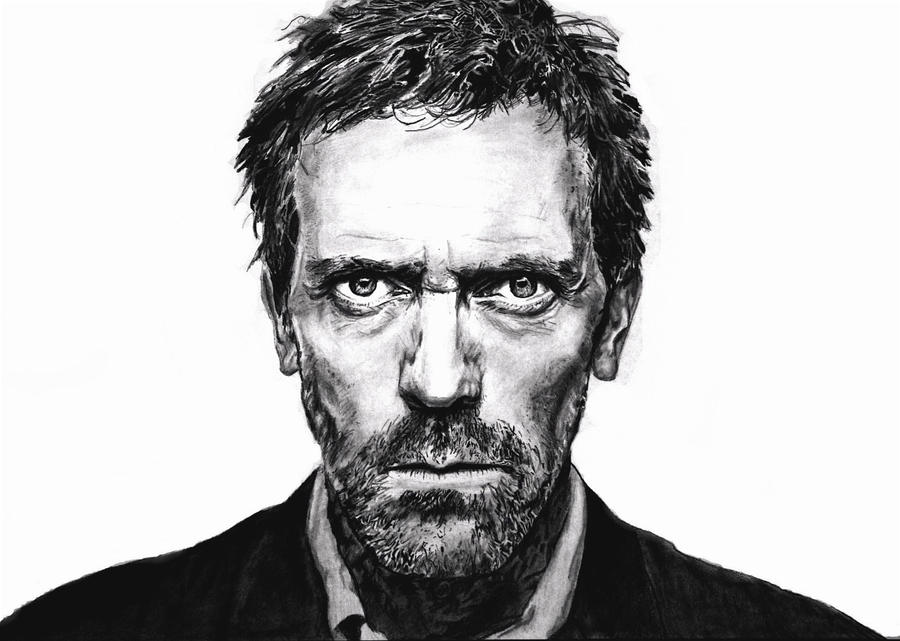 Hugh Laurie II by rorymac666