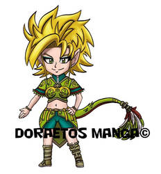Quezal Forma Ragazza Chibi - SD Quezal Girl Form by Dragoon88-DragonDao