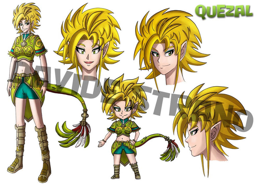 Girl Form Quezal by Dragoon88-DragonDao