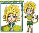 Quezal References 2 - Skit and Chibi by Dragoon88-DragonDao