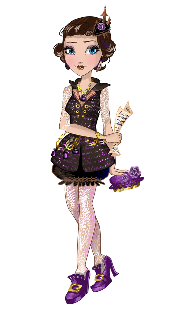 Ever After High OC: Christine Andersen. (update) by Uruseline