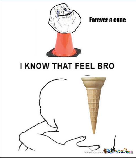 Forever a cone by p1kachu132