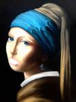 Copy of Vermeers Lady