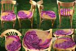 Melting Rose Chair