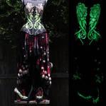 Textiles - 2018 - Corset Peony Dress (9)b