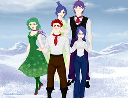 Snow Queen Scene Maker: Inside Out by IAmAwesome12345673