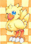ACEO-Chocobo