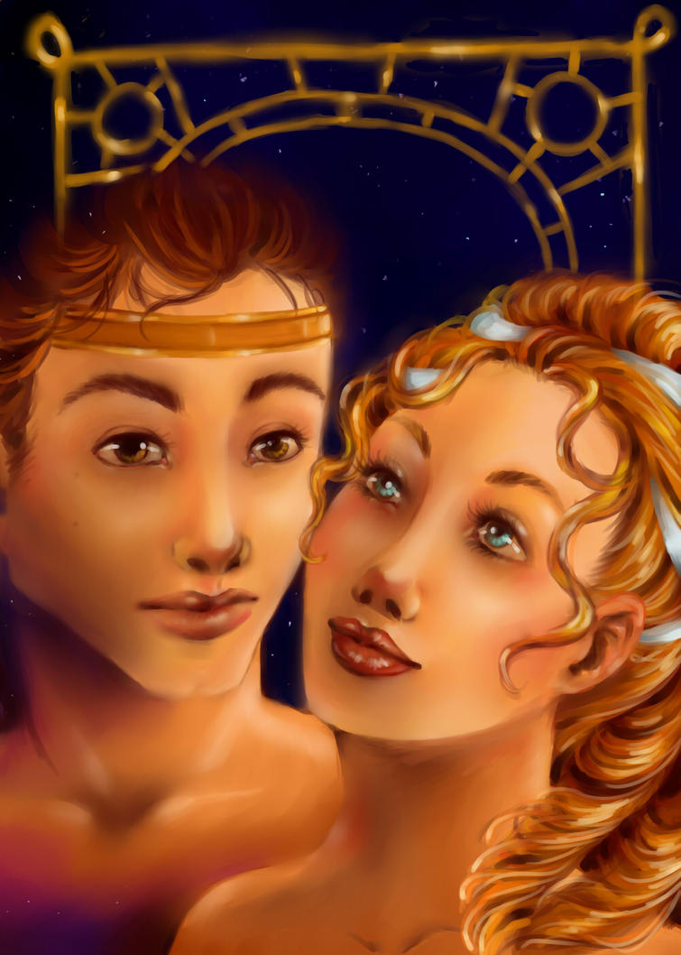 Eros and Psyche by Faerytale-Wings on DeviantArt