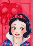 Snow white-Aceo
