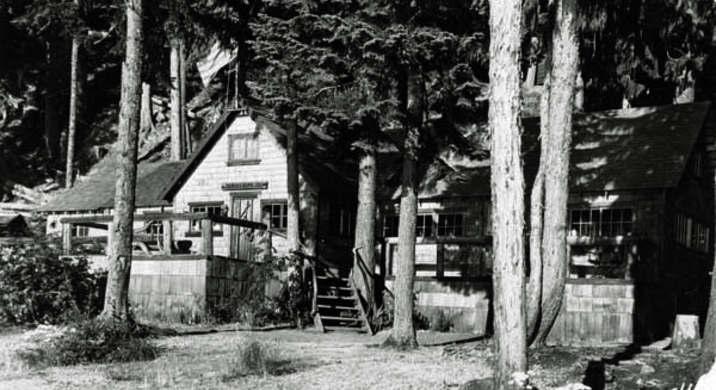 Mt St Helens Harmony Falls Lodge 1965 By