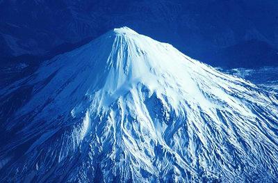 Mt St Helens Snowy Mountain 1978 By Crystallinehfa