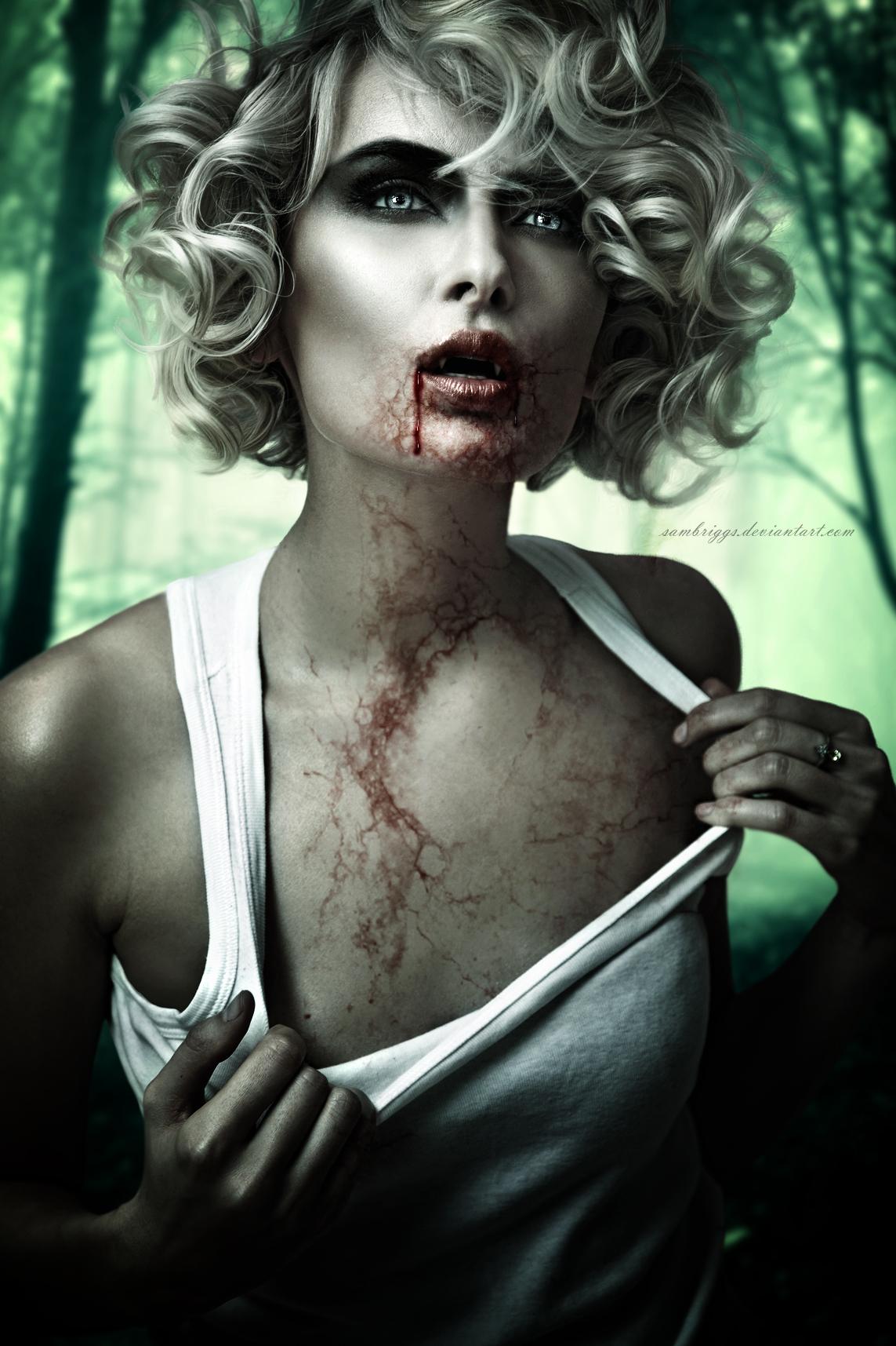 Vampire Beauty XIII by SamBriggs