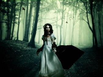 Emerald Forest Vampire by SamBriggs