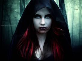 Vampire's Gaze IV by SamBriggs