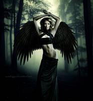 Dark Angel XI by SamBriggs