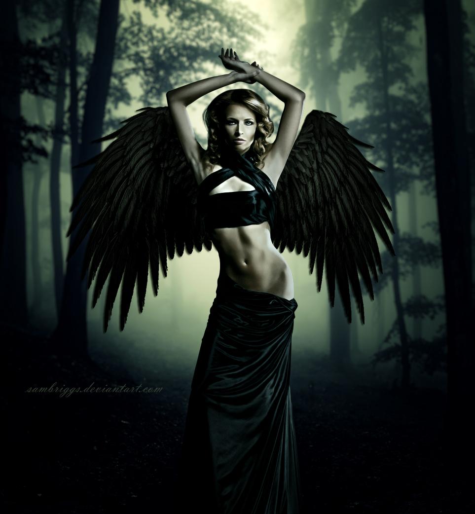 Dark Angel XI by SamBriggs on DeviantArt