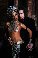 Akasha and Lestat by SamBriggs