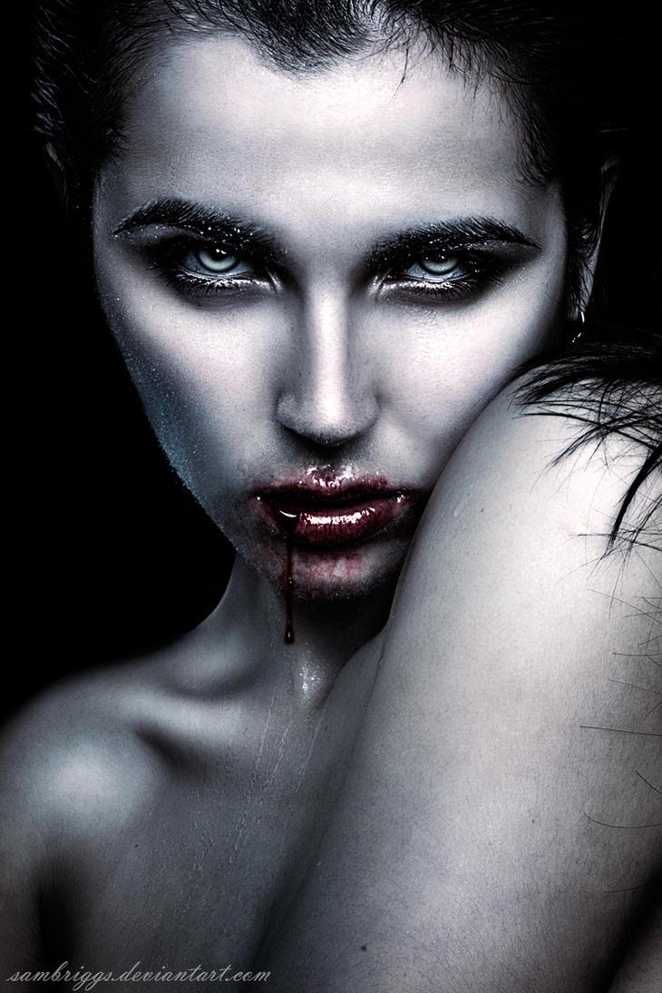 Vampire's Gaze VI by SamBriggs