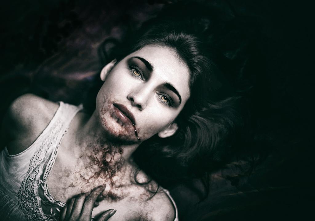 Vampire Newborn by SamBriggs