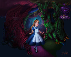 Alice In Wonderland by matthoworth