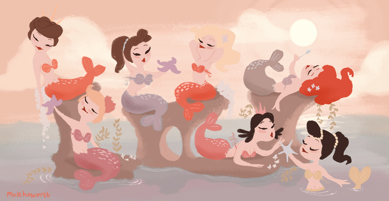 Blair Mermaids by matthoworth