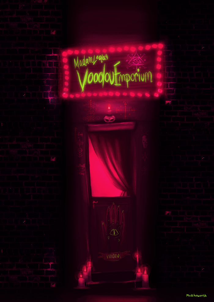 Madame Leola's Voodou Emporium by matthoworth