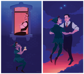 commission: Peter Pan by matthoworth