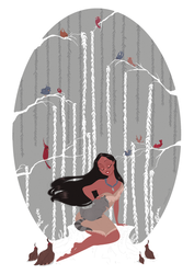 Pocahontas by matthoworth