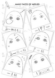 Medjed Fever - Many Faces of Medjed