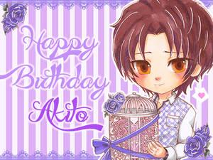 Princess Closet: Akito's Birthday