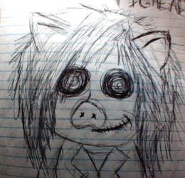 Pighead in my old style by ThUtHzIi