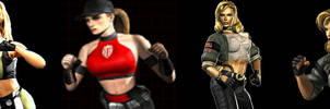 Sonya Blade versus portraits