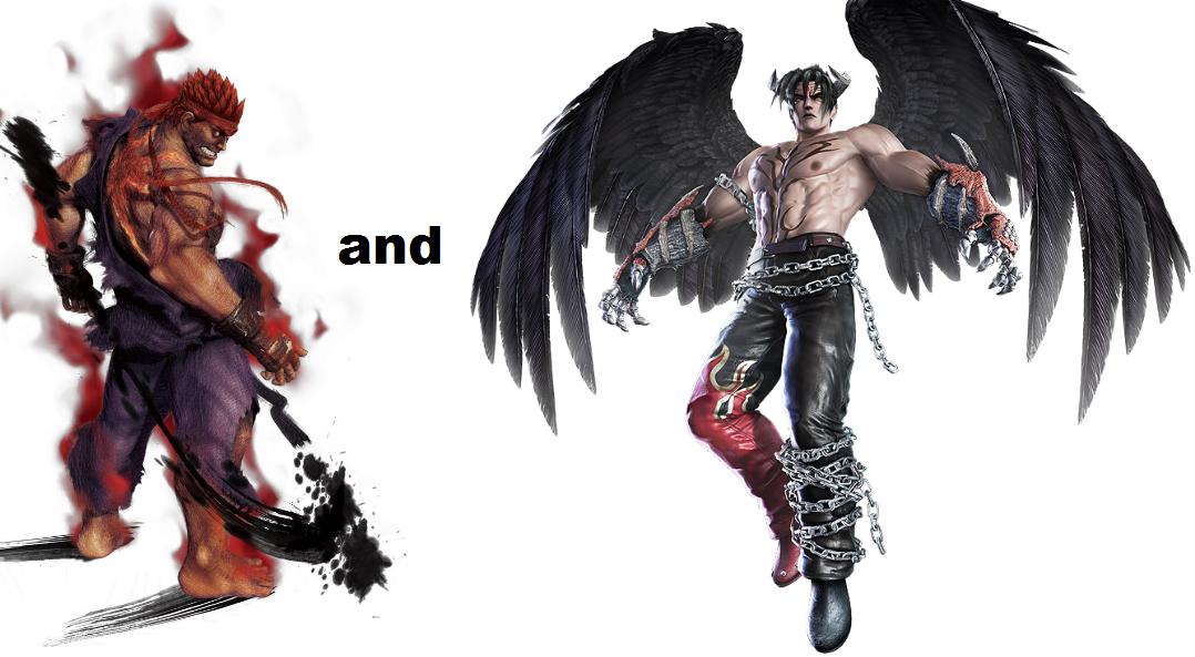evil ryu and devil jin by xxtrettaxx on deviantart