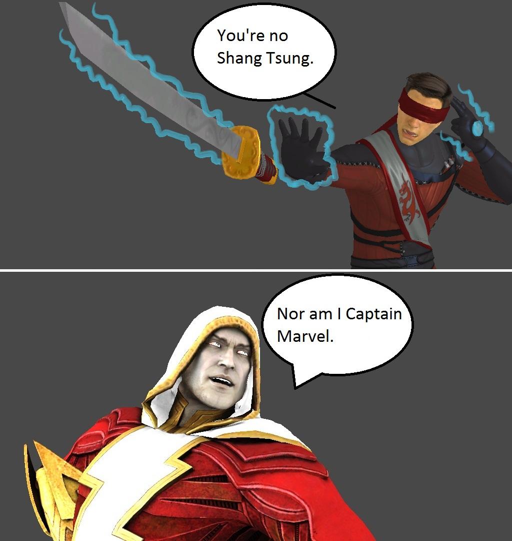 Injustice Kenshi Vs Shazam By XXTrettaXx