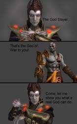 Mortal Kombat X: Shinnok vs Kratos