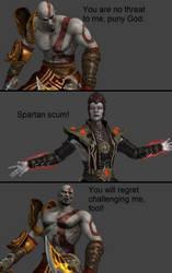 Mortal Kombat X: Kratos vs Shinnok