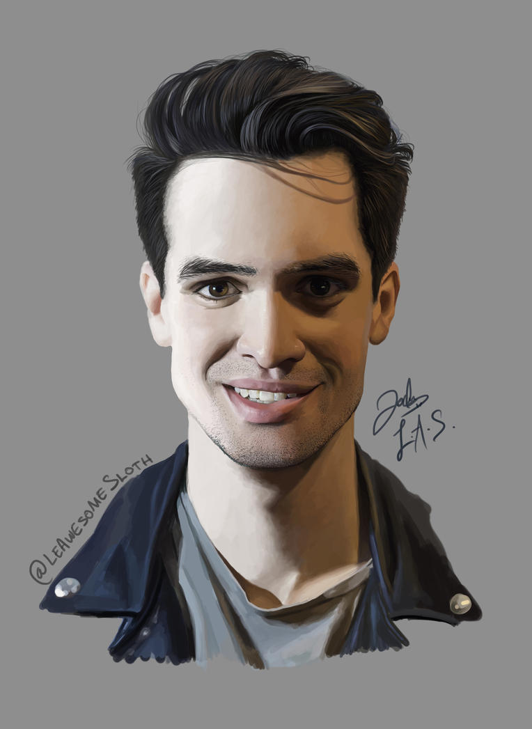 brendon urie by leawesomesloth on deviantart