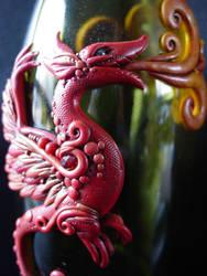 Dragon Bottle by Ban-Sidhe