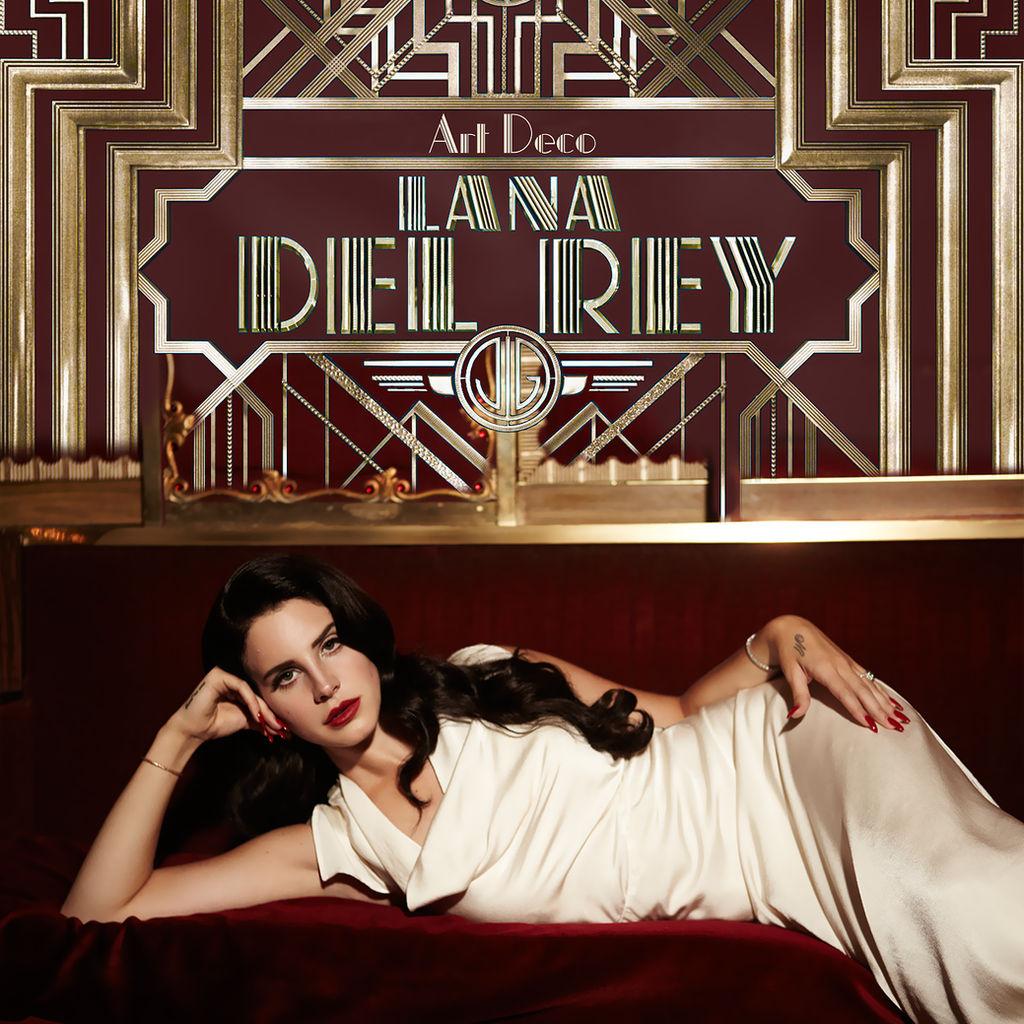 Lana Del Rey Art Deco Single Cover By Alejandrodelrey On Deviantart