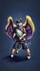 Young Opinicus- by Andalar by JN-Squire