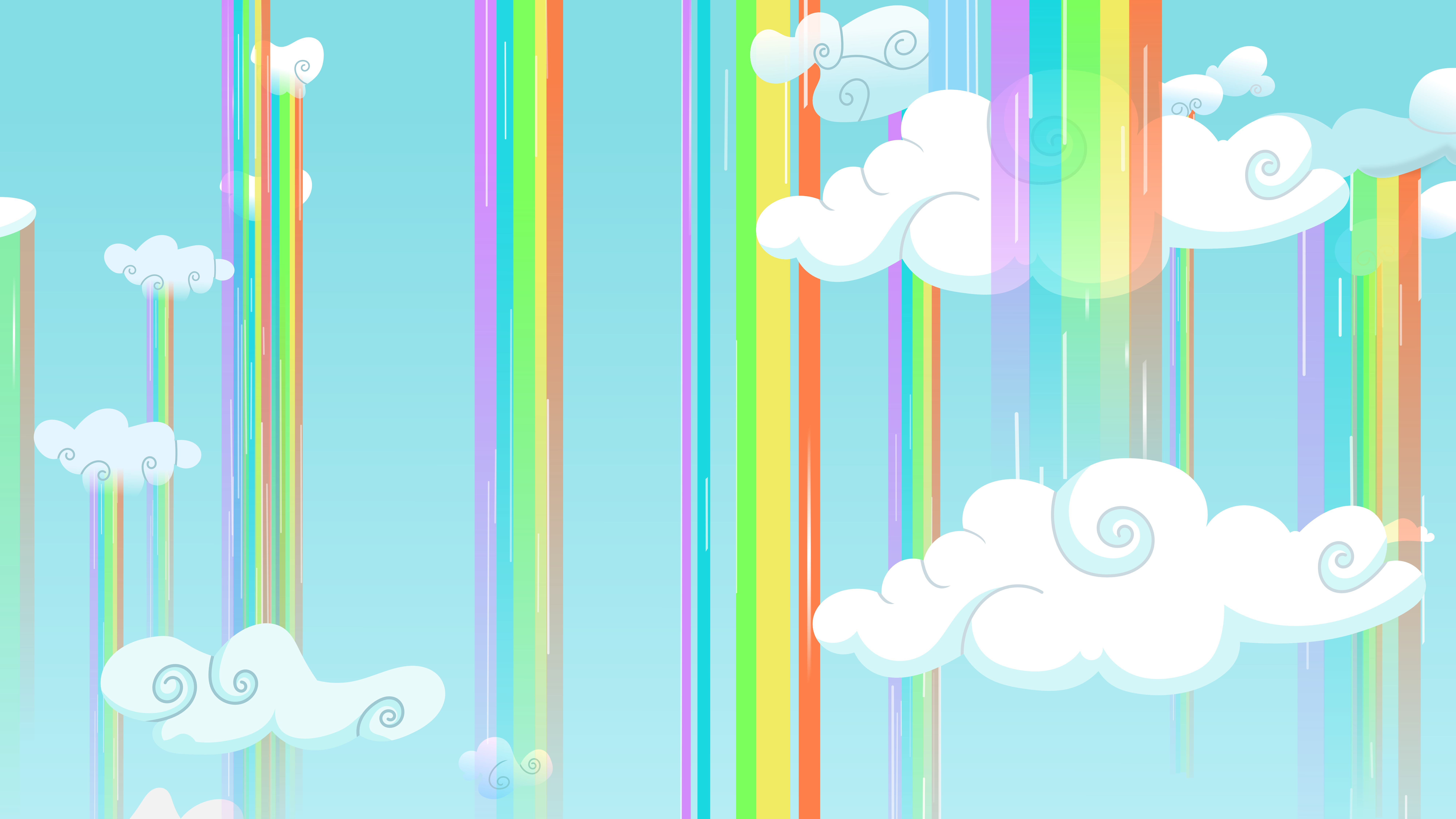 Sky Rainbowfalls by Ambassad0r