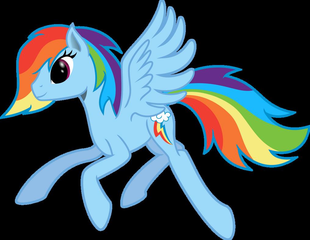 Stylish Rainbow Dash by Ambassad0r