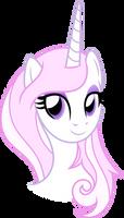 Pretty Pink Unicorn (Vectorized)
