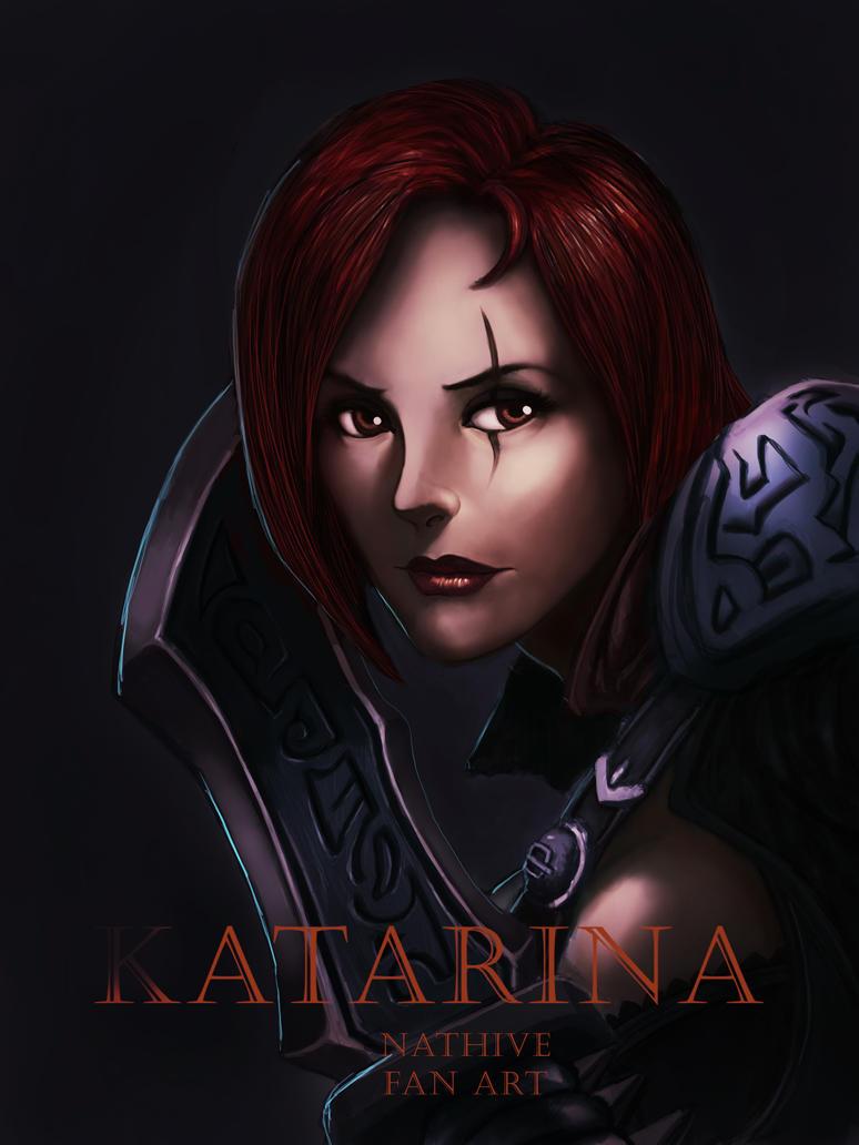 katarina fan art by Artezo