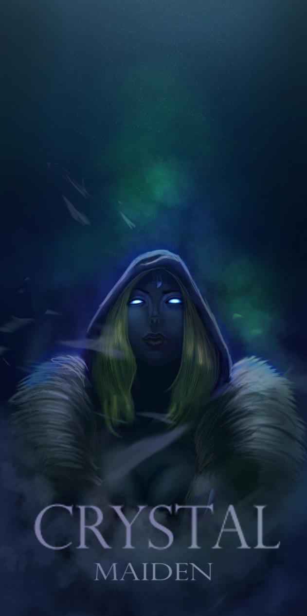 Crystal maiden Dota 2 Fan art by Artezo