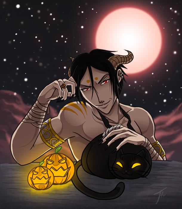 Halloween Sebastian by Thunddi