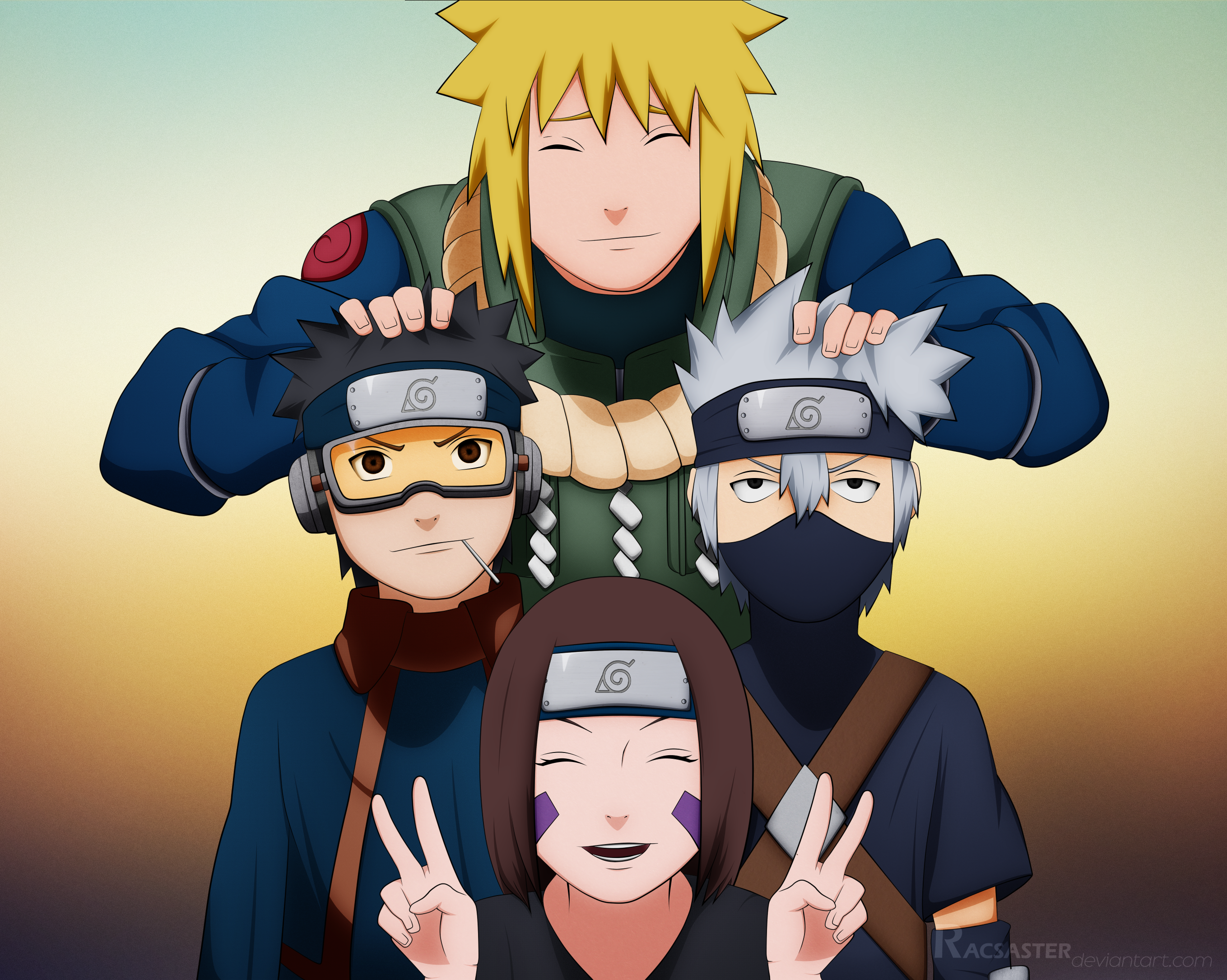 Image Result For Kakashi Team
