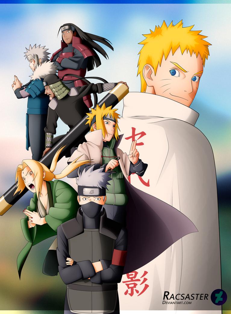 Sarada Uchiha The 9th Hokage Former Student of... - Naruto ...  |9th Hokage